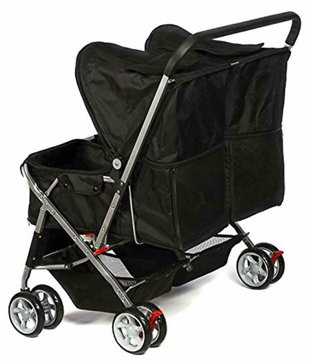 Paws Pals Double Dog Stroller Pet for Cats