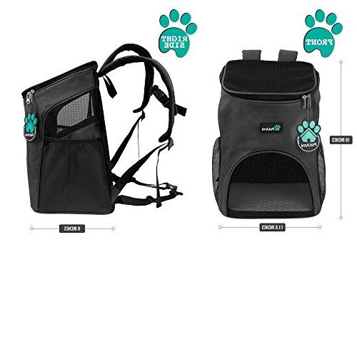 PetAmi Backpack Cats and Design, Support | Travel, & Outdoor Use