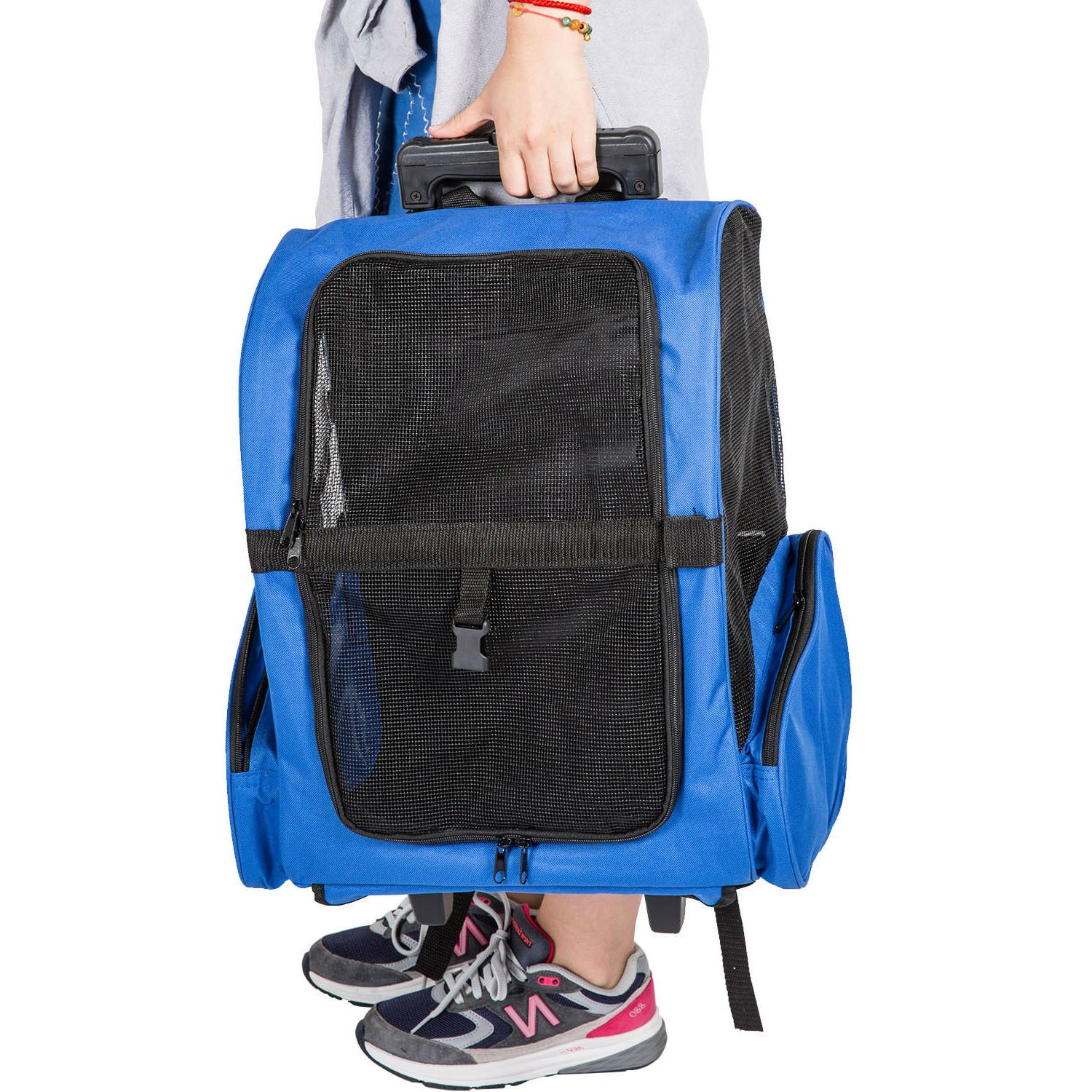 Rolling BackPack Luggage pproved