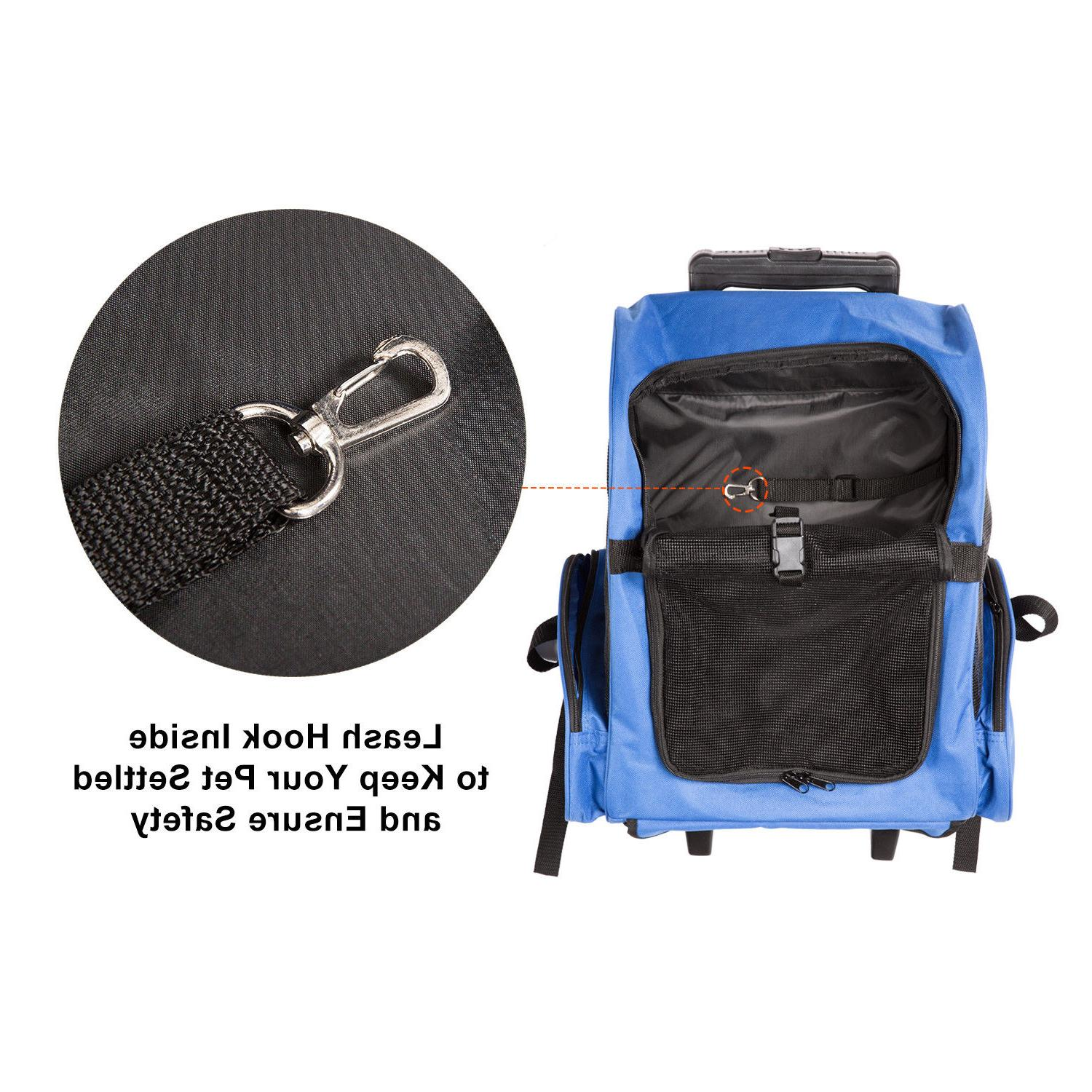 Pet Rolling Luggage Bags pproved