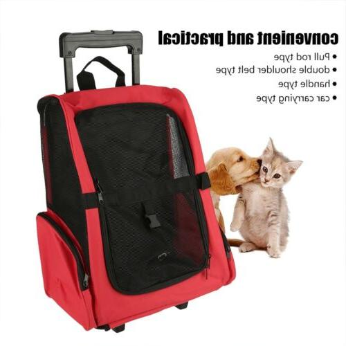 Pet Carrier Rolling Travel Luggage