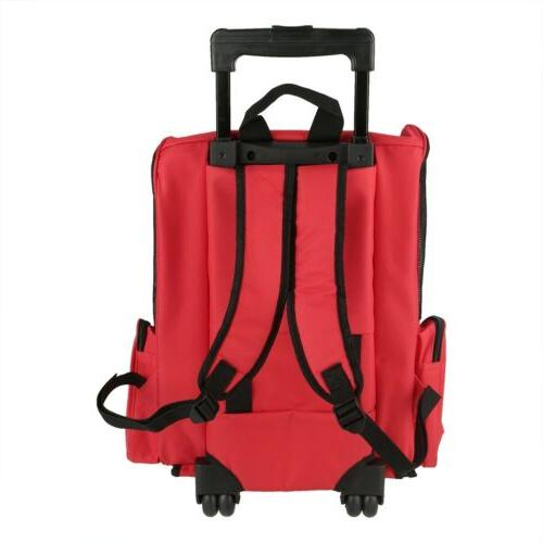 Portable Luggage Box Carrier Rolling