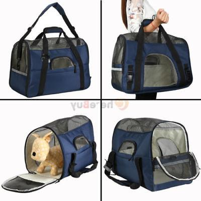 Pet Carrier Large Cat/Dog Travel Bag Airline