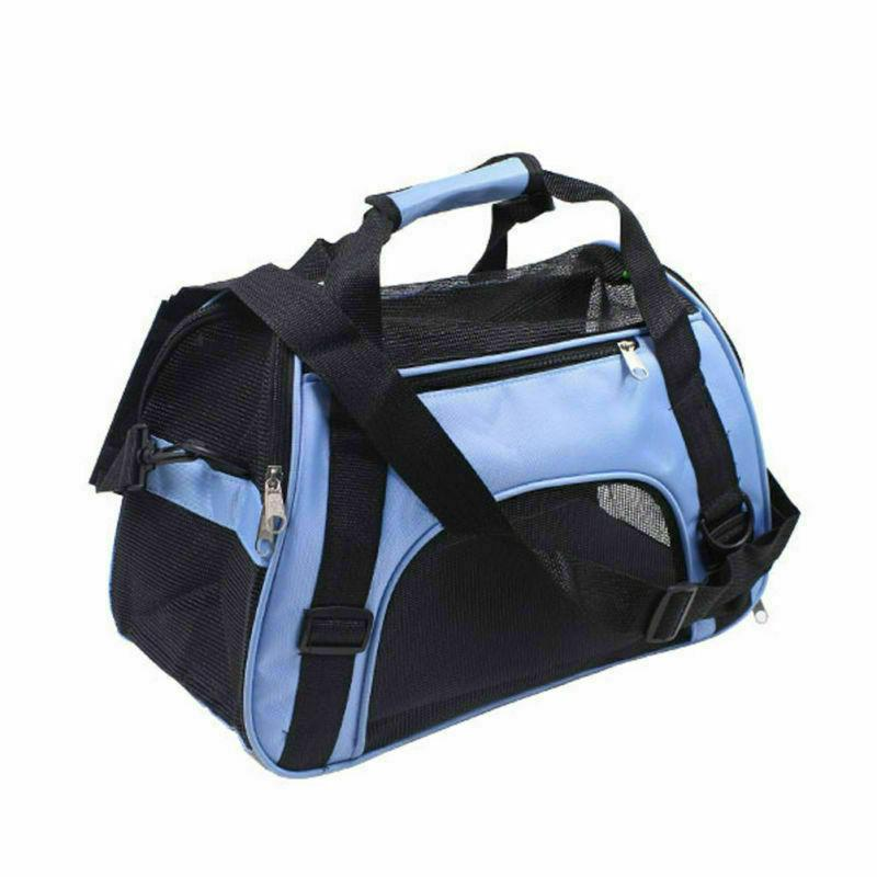 Pet Carrier Soft Small Large Dog Comfort Approved