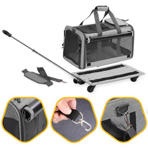 KOPEKS Carrier Detachable Wheels for and Dogs & Cats -