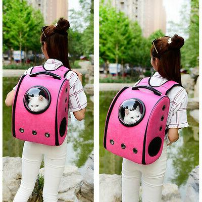 Pet Astronaut Carrier Soft-Sided Backpack