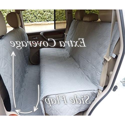Pet Car Van Quitlted Padded Non-slip Back Seat Extra Large