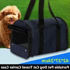 Pet Dog/Cat Carrier Portable House Soft Sided Comfort Travel