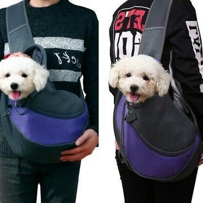 Puppy Pet Dog Cat Carrier Mesh Comfort Travel Tote Sling Bac