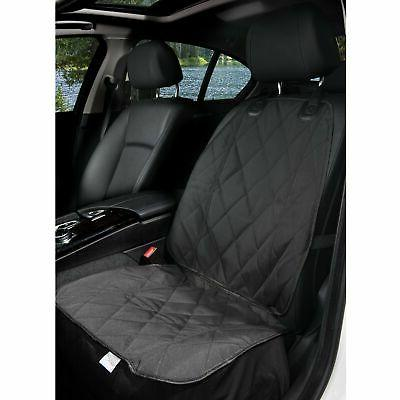 pet front seat cover for cars black