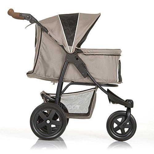 TOGfit Roadster Luxury Puppy, or Cat   Easy Three Jogger Loading lb, Mattress - Gray