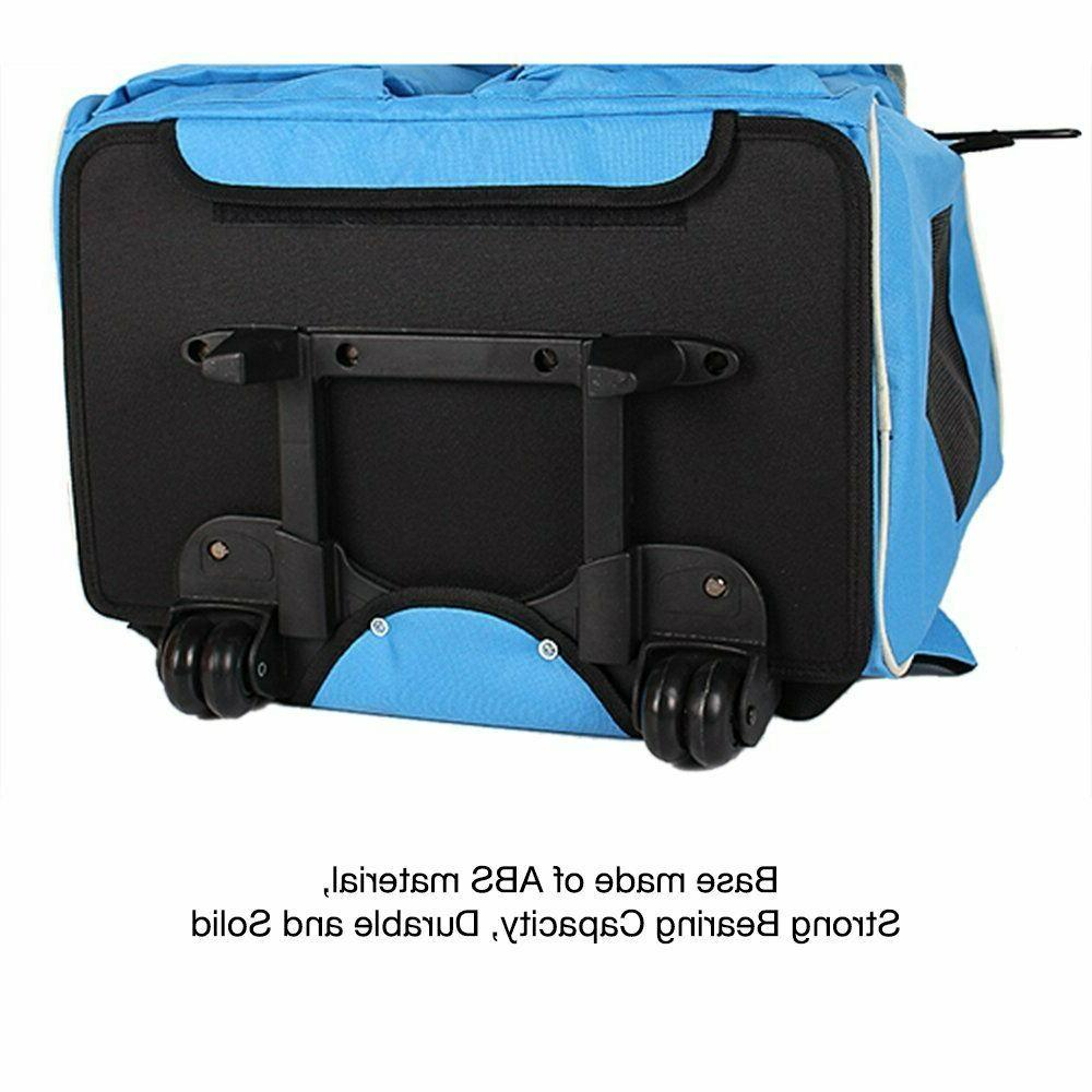 ImpecGear Rolling Carrier Backpack Dogs Cats Pets Large Carrier