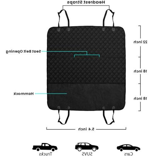 Pet Seat Cover for Dogs Seat Protector Cushion