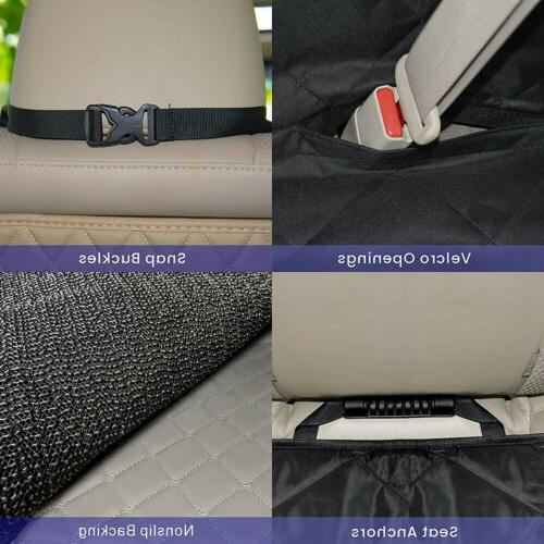Pet Seat Cover Dogs Back Protector Cushion