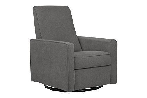DaVinci Piper All-Purpose Upholstered Recliner with Piping,