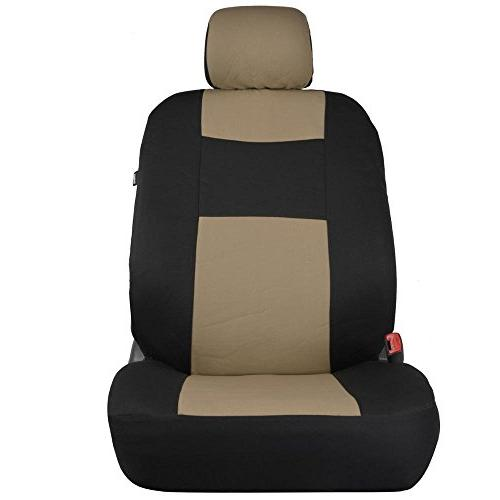 PolyCloth BlackBeige Car Accent for
