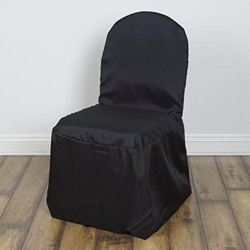 polyester banquet chair covers wedding