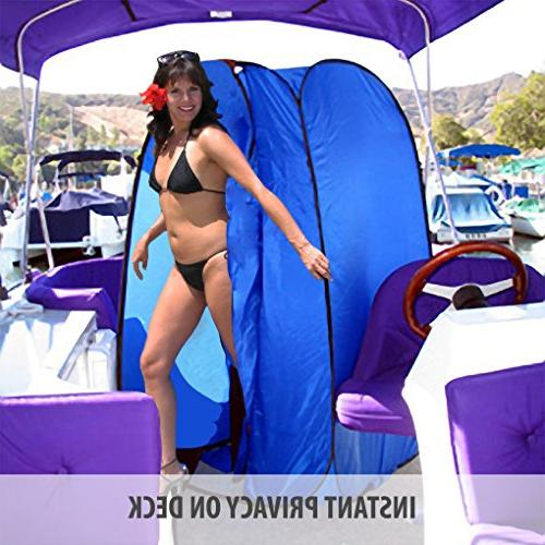 Bag Shower with Dura-light Steel Weather-Resistant material for Pontoon / / Fishing / Boat. Included Tie-Down