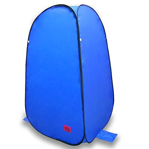 Pop-Up Bag Instant Portable Changing, Shower and Bathroom with Dura-light and Weather-Resistant for for Pontoon / Deck Fishing /