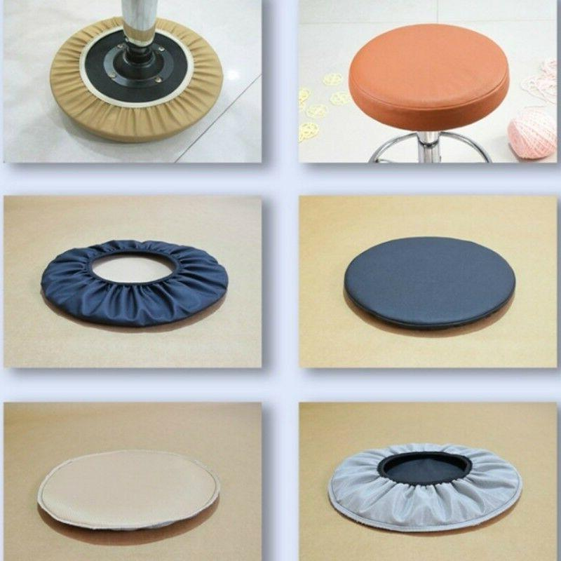 Pu Round Cover Chair Cover Dining Pad
