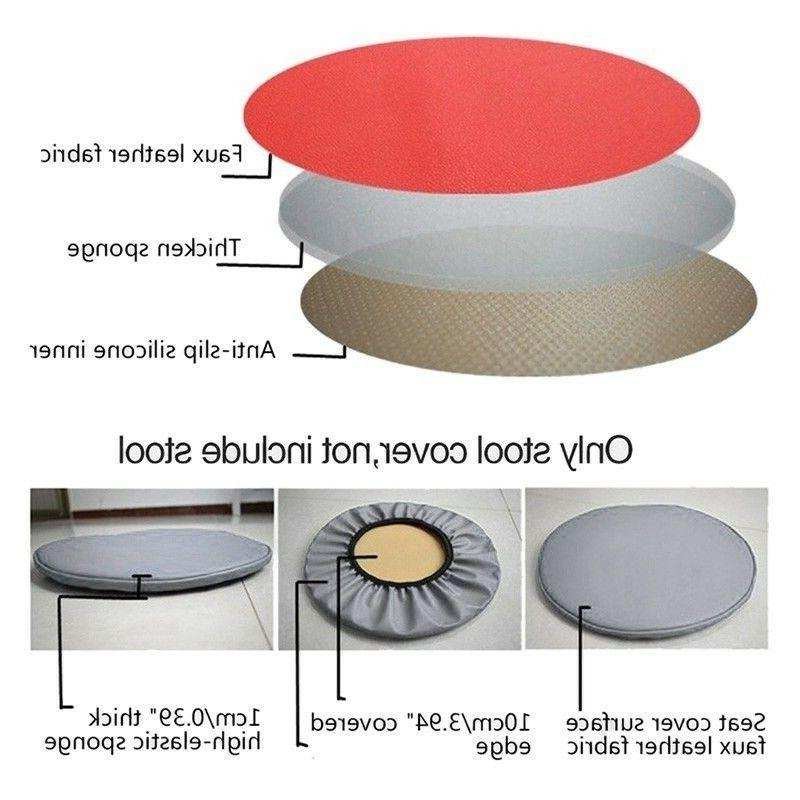 Pu Cover Floor Chair Cover Stool Dining Seat Pad