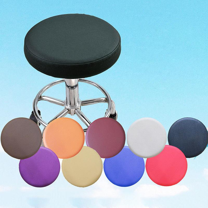 pu leather round shape cover floor chair