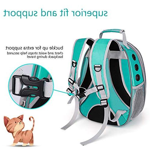 Lollimeow Puppy Backpack Breathable 360° Sightseeing Airline