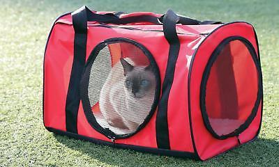 Red Large Travel Bag - Soft For Dog Kitty Cat