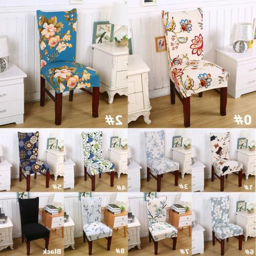 Removable Chair Cover Party Dining Room Seat