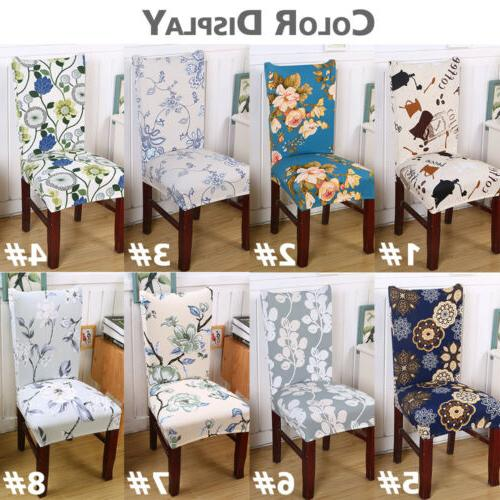 Removable Stretch Chair Cover Party Dining Room Seat