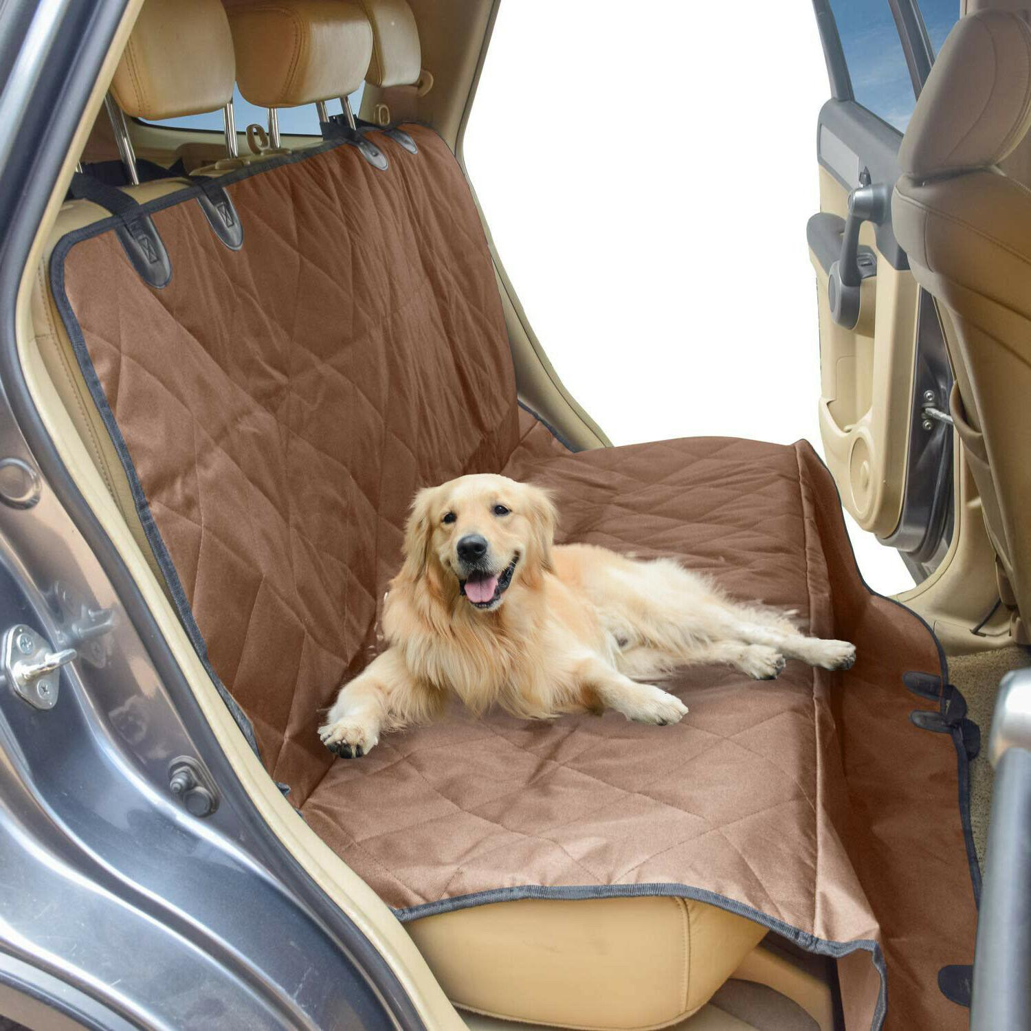seat cover rear back car pet dog
