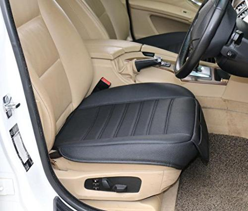 soft pu leatherette front seat protection car