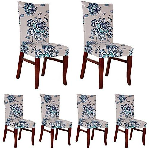 spandex fabric chair slipcovers removable