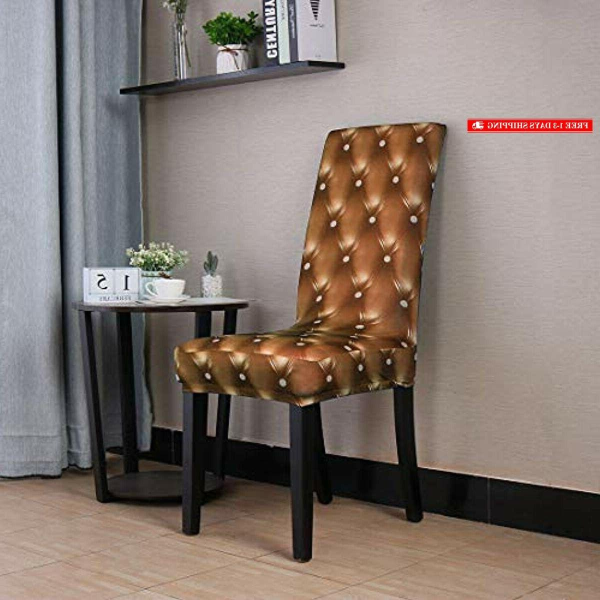 uxcell Spandex 3D Dining Seat Protector Washable Stool
