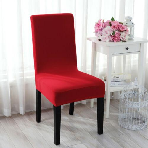 Spandex Stretch Wedding Chair Cover Dining Seat