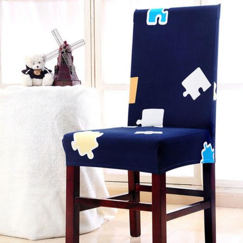 Stretch Chair Elastic Washable Removable Dining Room