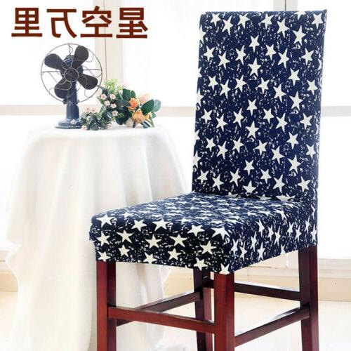 Stretch Cover Elastic Washable Removable Decor Dining Slipcovers