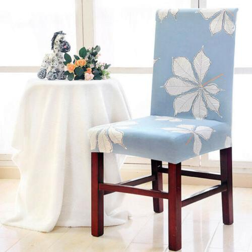 Stretch Elastic Removable Dining Room Slipcovers