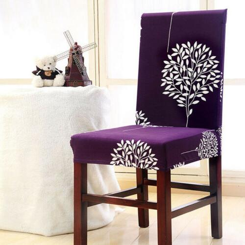 Stretch Seat Cover Elastic Washable Dining
