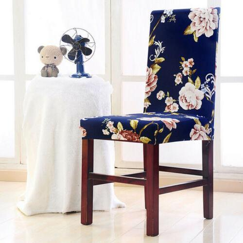 Stretch Seat Cover Elastic Washable Decor Dining