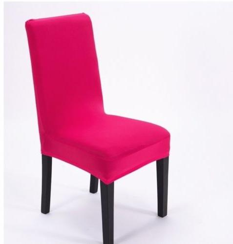Stretch Chair Cover Elastic Washable Dining Room
