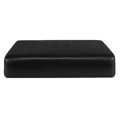 stretch leather sofa futon seat slipcover couch