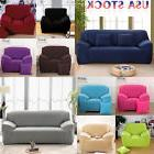 US Ship Stretch Chair Sofa Covers 1 2 3 Seater Protector Cou
