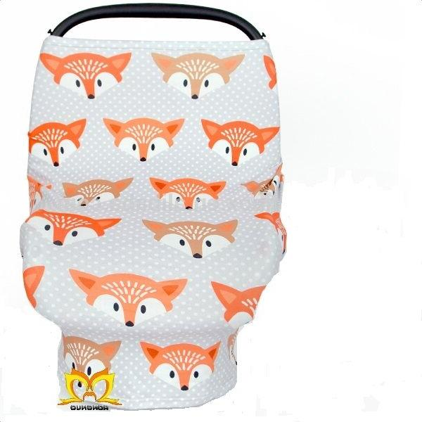 Stretchy Car Seat Cover Canopy Animal Printed-Ships Fast-USA