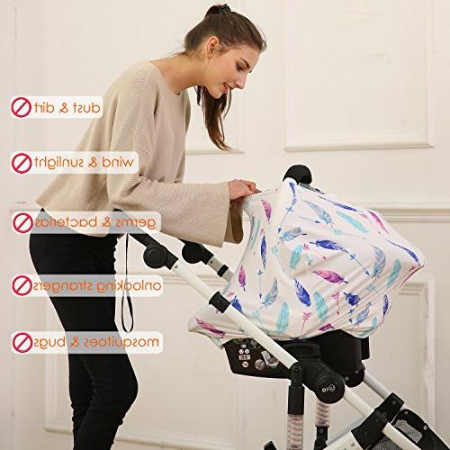 Hicoco Baby car Cover, Cover carseat Canopy