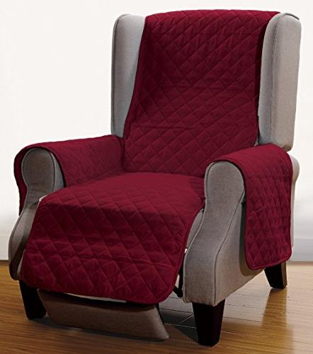 superior reversible recliner cover furniture