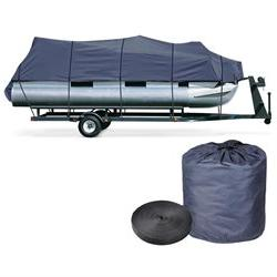 21 - 24' Trailerable Pontoon Boat Cover 600D UV Waterproof w