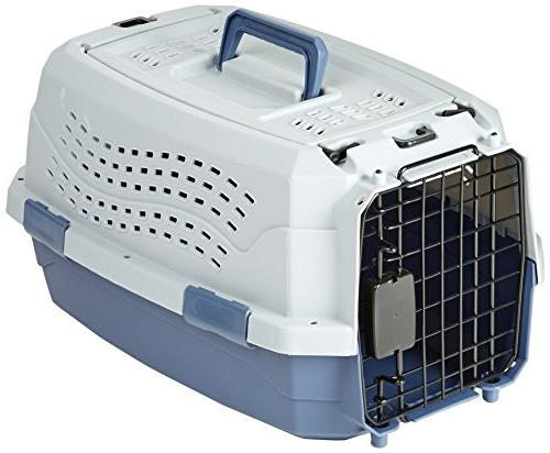 """23"""" Two Door Top Load Pet Kennel Carrier Travel Crate Cage D"""