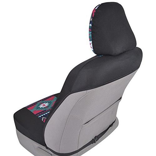 BDK Car Seat Covers Sideless Soft