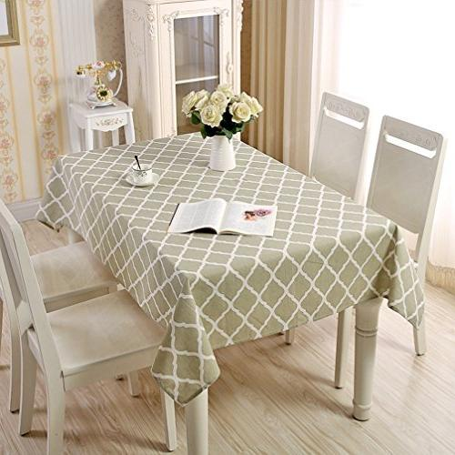 washable rectangle tablecloth dinner picnic